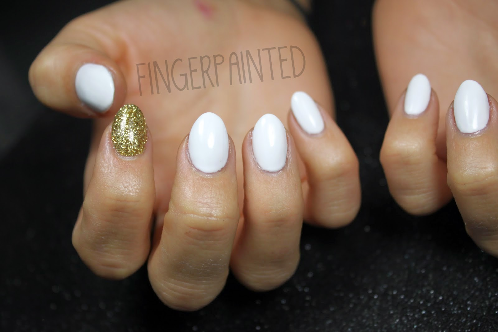 White oval acrylic nails | Nail Art and Tattoo Design ...