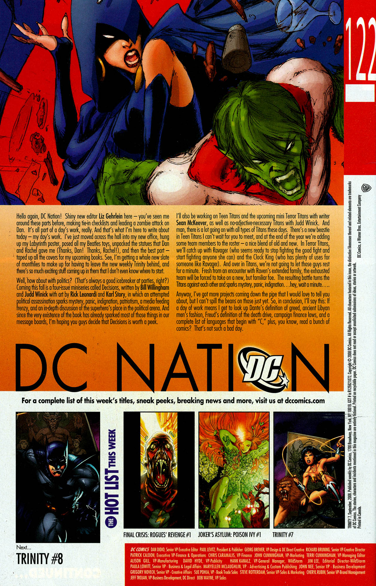 Read online Trinity (2008) comic -  Issue #7 - 32