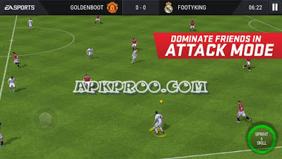 [Update] Download Game FIFA Mobile Soccer Full Transfer Terbaru 2017/2018 Mod Apk + Obb