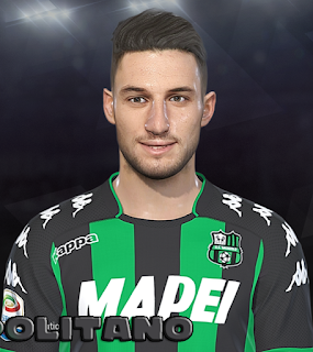 PES 2018 Faces Matteo Politano by Prince Hamiz