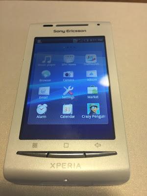 ΕΥΚΑΙΡΙΑ!! Sony Ericsson XPERIA X8 E15I ΛΕΥΚΟ ΧΙΟΝΙ Smartphone 100€