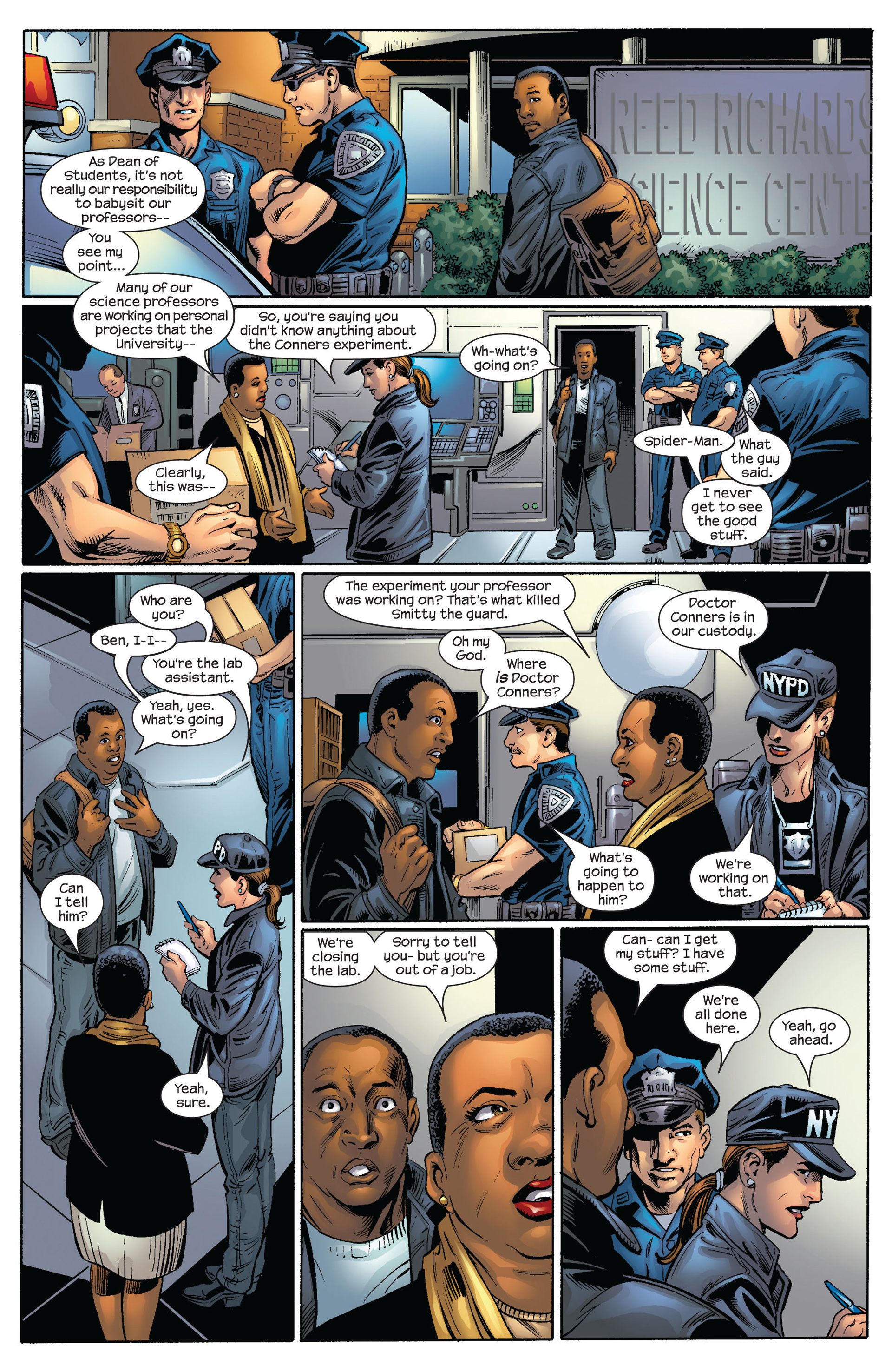 Read online Ultimate Spider-Man (2000) comic -  Issue #64 - 21