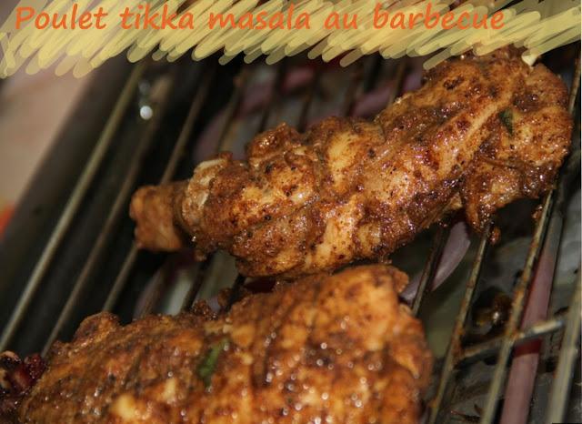 Cuisses de poulet tikka masala, au barbecue, grill ou plancha