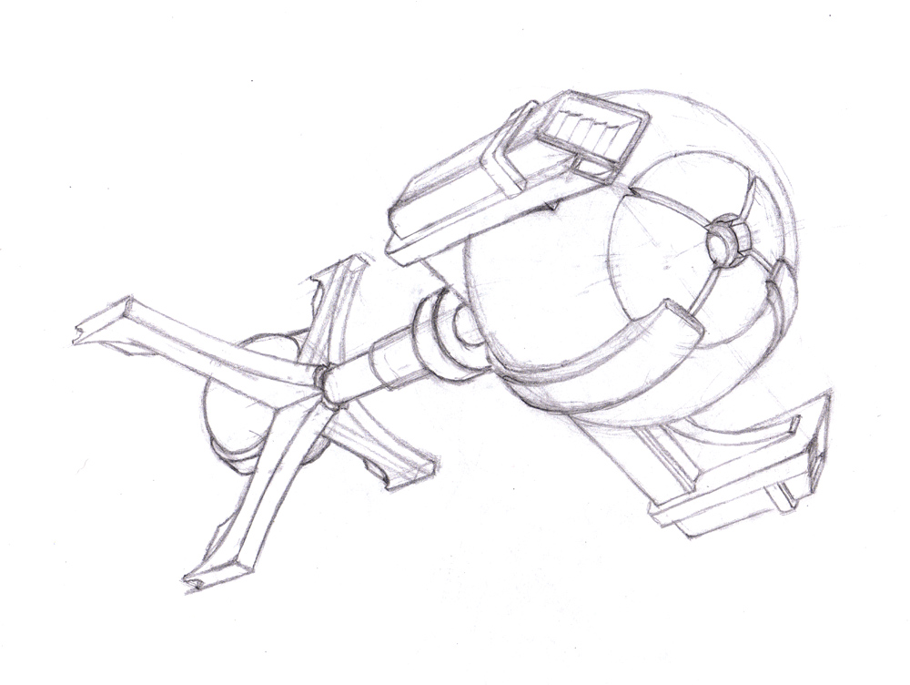 Space Ship Drawings (page 2) - Pics about space