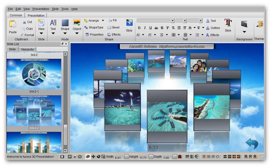 Download gratis software download aurora 3d presentation for Software 3d gratis