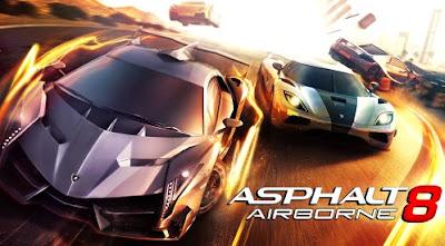asphalt 8 airborne mod apk image