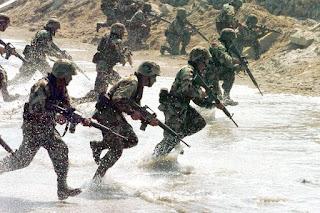 Pasukan NATO Latihan