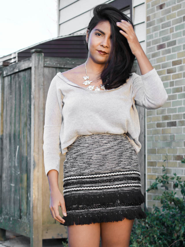 fringe-skirt-tassel-grey-hm