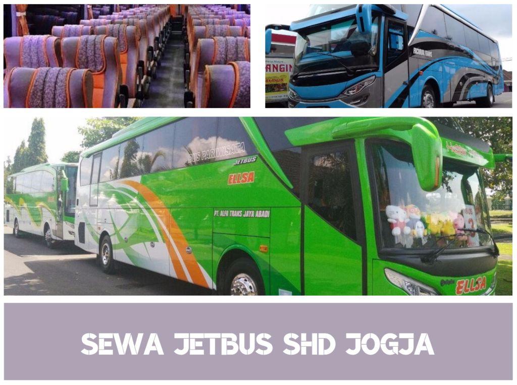 Sewa JetBus SHD seat 50 Jogja