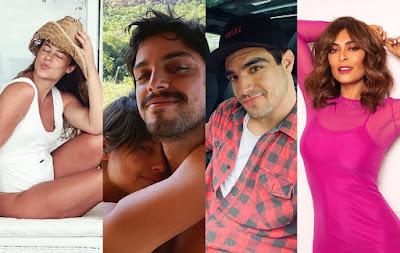 Confira como Paolla Oliveira, Agatha Moreira, Malvino Salvador, Caio Castro, Juliana Paes e Sergio Guizé estão curtindo os dias de folga