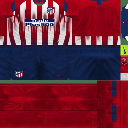 fa74d201a19 PES 6 Atletico Madrid 2018 19 GDB Kits - Micano4u