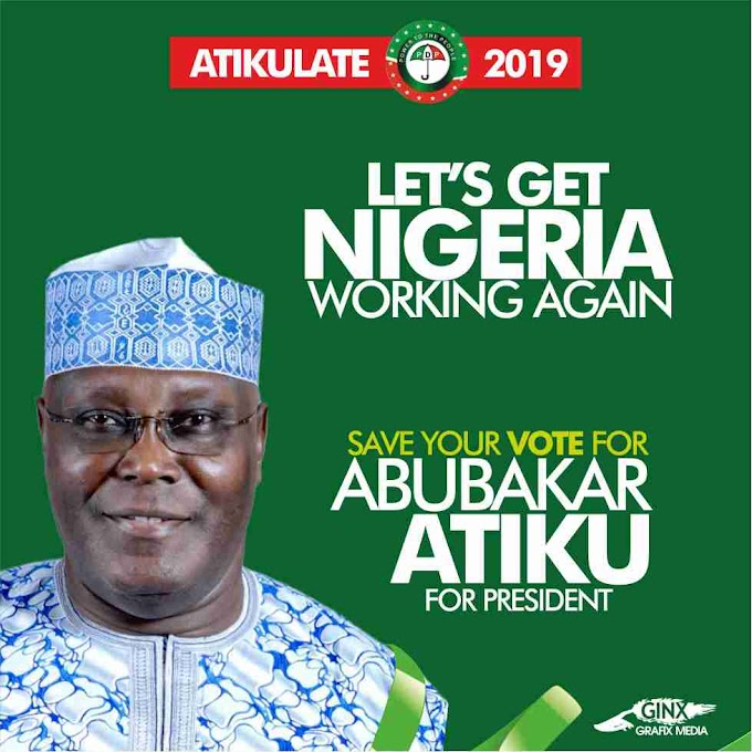 2019 Election: 5 Top Reasons Why Atiku Is The Only Candidate To Fix Nigeria