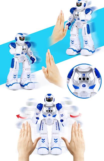 robot Smart bot cảm  biến tay bạn