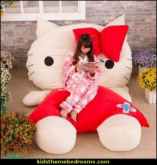 Hello Kitty Bed Sofa Kids   Hello Kitty bedroom ideas - Hello Kitty bedroom decor - Hello Kitty bedroom decorating - Hello Kitty bedroom furniture - Hello Kitty Wallpaper Mural - Hello Kitty Throw Pillows  - Hello Kitty bedding - Hello Kitty Rugs