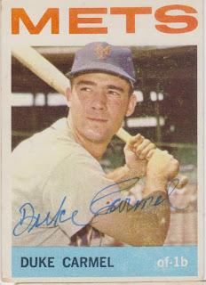 1964 Topps, Duke Carmel