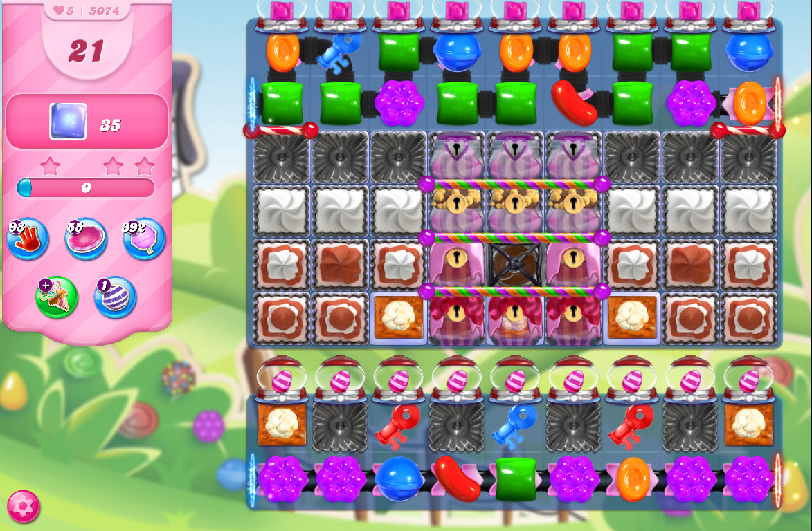 Candy Crush Saga level 5074