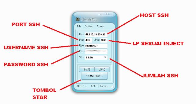 Simpel Tunnel untuk SSH pengganti Bitvise dan Proxifier