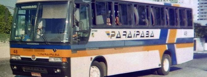 Recorde o carro 48 da Viação Paraipaba