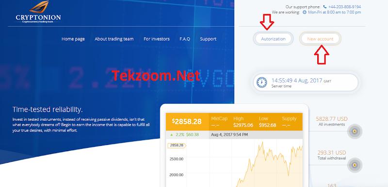 [SCAM] Review CryptoNion - Dự án Tradecoin - Lãi up 1.55% hằng ngày - Đầu tư tối thiểu 10$ - Thanh toán tức thì