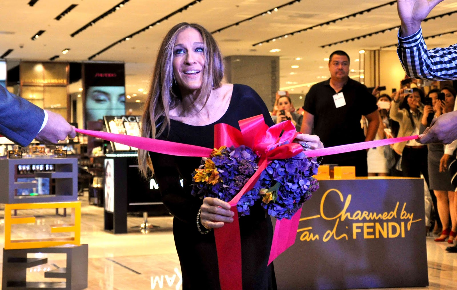 Sarah Jessica Parket at SM Aura grand opening , SM Store