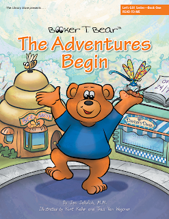 Booker T Bear, The Adentures Begin illustrated by Kurt Keller and Traci Van Wagoner