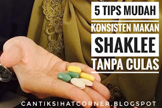 Tips makan shaklee tanpa culas