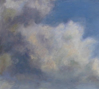 Paula Hondsmerk Art, wolken schilderen, wolken tekenen