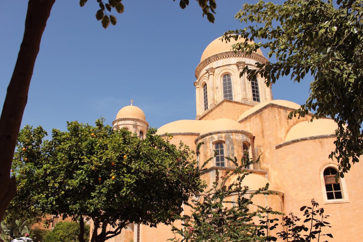 Tages-Tour Akrotiri: Aptera, Agia Triada Kloster, Karibik Bucht, Chania