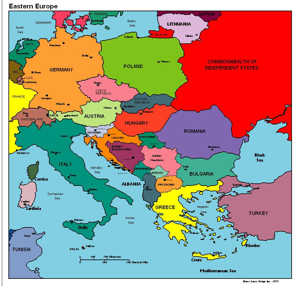 Karten Europa