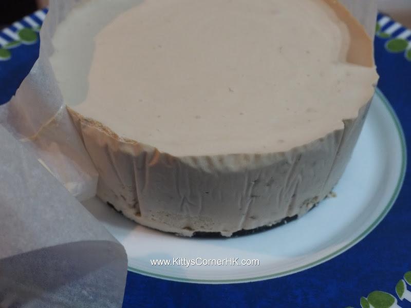 No bake Banana Cheesecake recipe  免焗香蕉芝士餅自家食譜