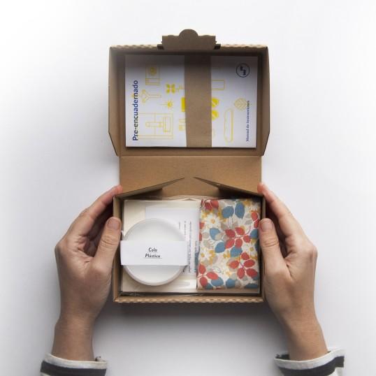 regalos-primera-comunion-fabrica-texturas-kit-encuadernacion-diy