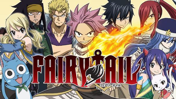 Fairy Tail - Anime Action Fantasy Terbaik dan Terseru