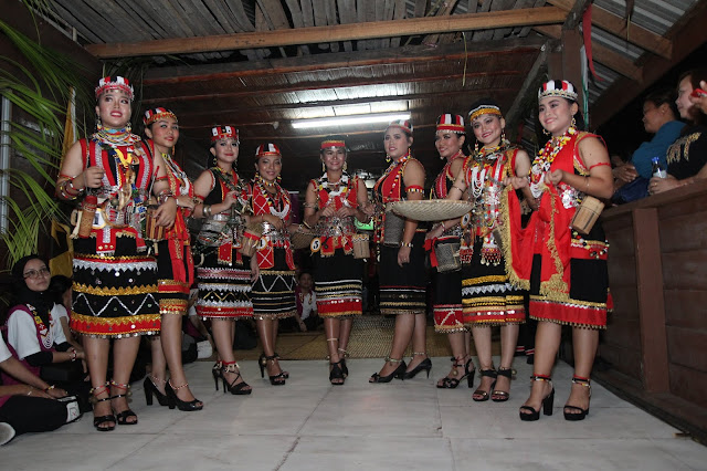 AEON Holds First Gawai Festival Celebration At Kampung Benuk, Kuching