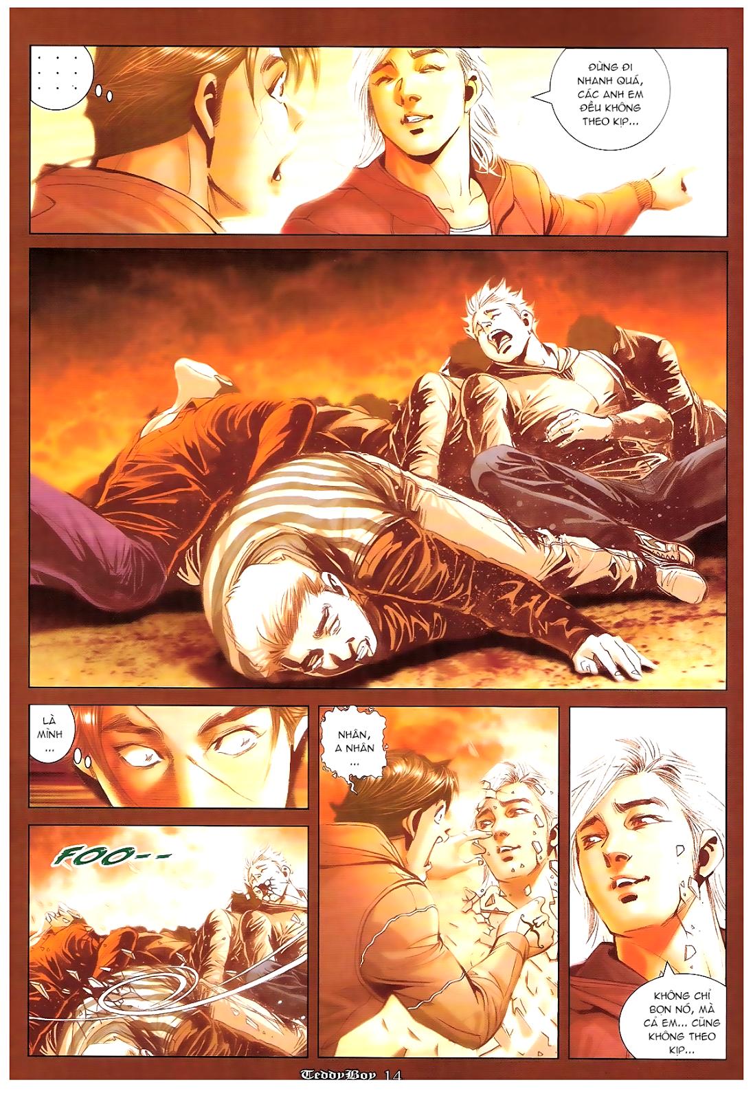 Người Trong Giang Hồ - Chapter 1221: Cái chết Đại Thiên Nhị - Pic 11