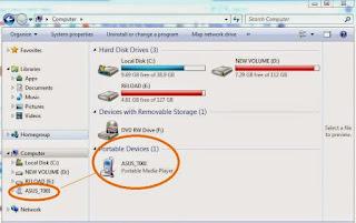 Menghubungkan asus ZenFone dengan PC