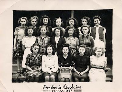 Vive les vacances ! Ecole de filles de la rue Carnot à Montceau (collection musée