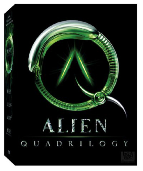 Alien 3 Movie: Movie Miniatures: DVD Extras: Alien Quadrilogy DVD Set
