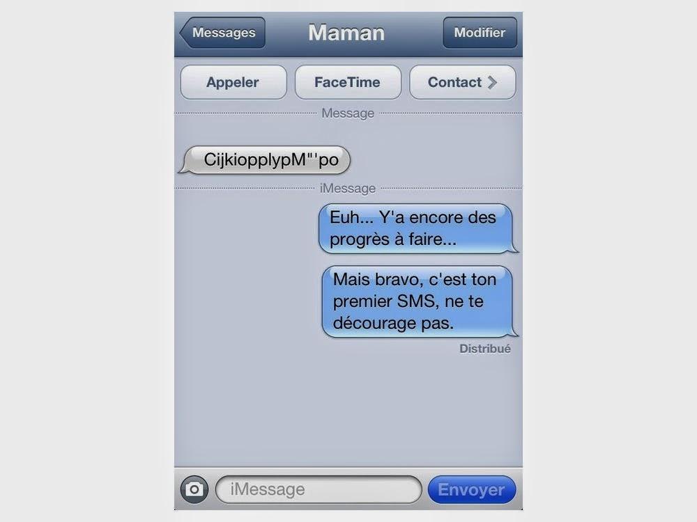 espace clients  sms  textos ou mini messages