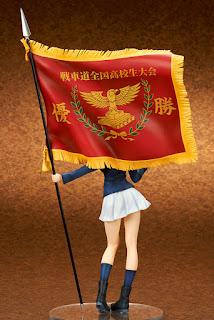 Nishizumi Miho Senshadou Zenkoku Koukou Ikuhirukei Yuushouki ver. 1/7 de Girls und Panzer der Film - Ques Q