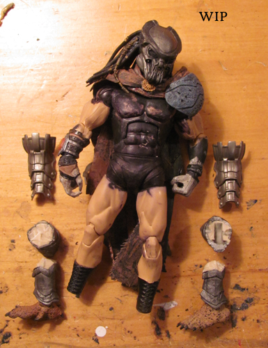 Custom Toys and Action Figures: Work in Progress: 1000AD