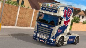 Scania R skin pack part two