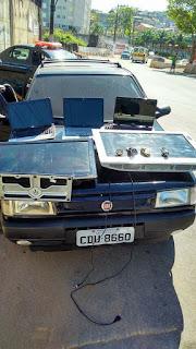 Após perseguição, Ronda Setorial da GCM recupera produtos roubados de uma residência