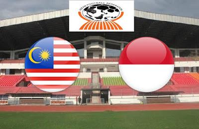 Live Streaming Malaysia vs Indonesia Kejohanan AFF B-19 12.7.2018