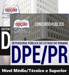 Apostila Concurso DPE/PR - Técnico em Recursos Humanos