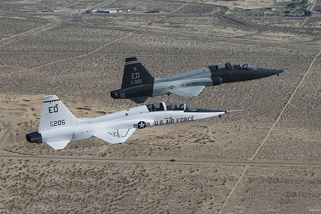 USAF Northrop celebrate T-38 Talon