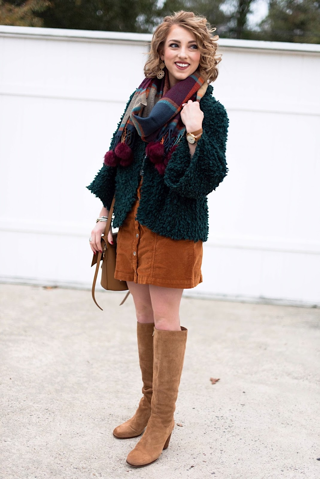 Thanksgiving Day Outfit Idea - Something Delightful Blog