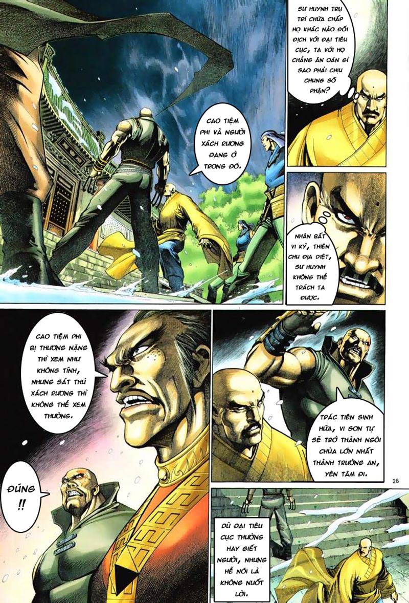 Anh hùng vô lệ Chap 6: Anh hùng hữu lệ trang 28