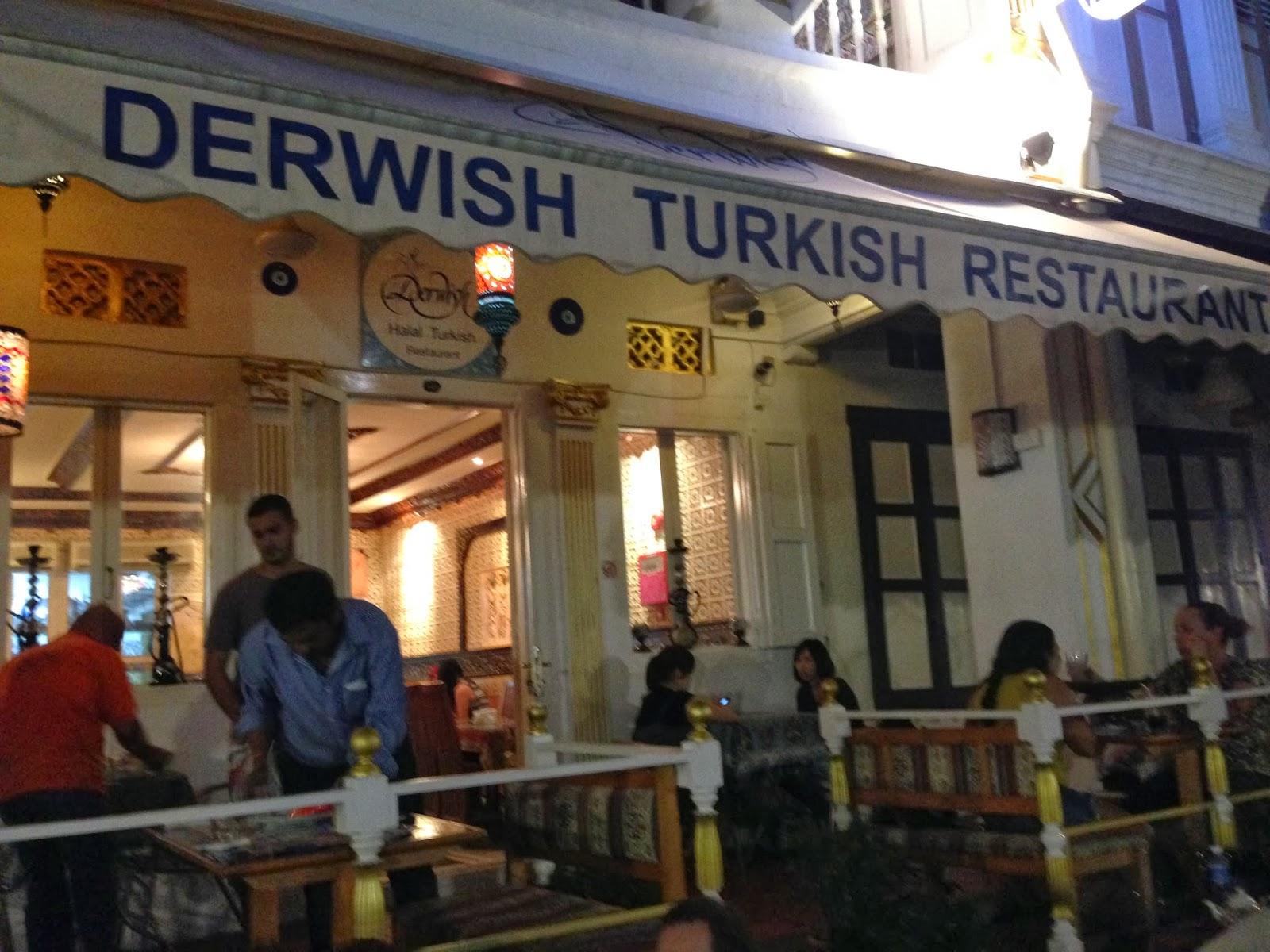 Derwish Turkish Restaurant Watford Menu