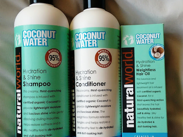 Natural World Coconut Water Hydration & Shine Range*