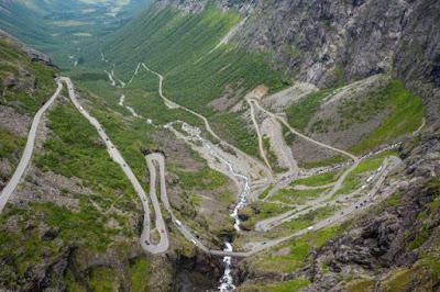 Trollstigen. Trolls Noruega